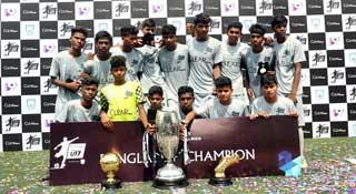 অনূর্ধ্ব-১৭ ফুটবলে চ্যম্পিয়ন রাজশাহীর সোনাদিঘি