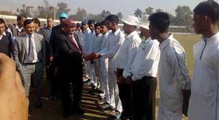 জাতীয় স্কুল ক্রিকেট : শেরপুরে মেমোরিয়ালকে ৯৮ রানে হারালো জিকে