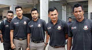 শ্রীলঙ্কা গেল বাংলাদেশ ক্রিকেট দল