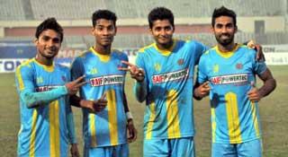 স্বাধীনতা কাপ ফুটবলে আরামবাগ-চট্টগ্রাম আবাহনী