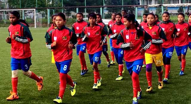চ্যাম্পিয়নশিপে ভালো করতে চান নারী ফুটবলাররা
