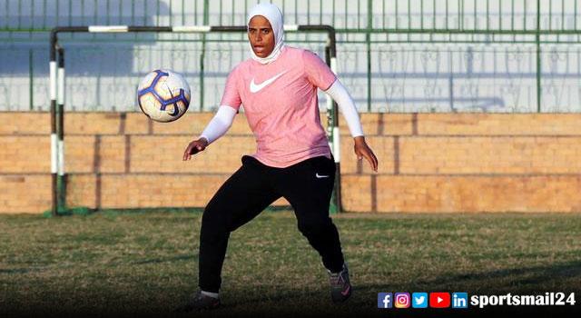 মিশরে পুরুষ ফুটবল দলের প্রথম নারী কোচ ফাইজা