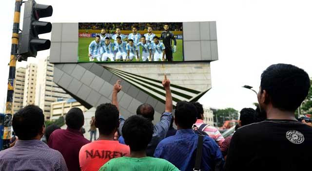 ফুটবল বিশ্বকাপের খেলা দেখাবে বাংলাদেশের তিন টিভি