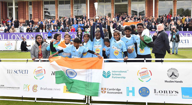 স্ট্রিট চাইল্ড বিশ্বকাপের চ্যাম্পিয়ন দক্ষিণ ভারত