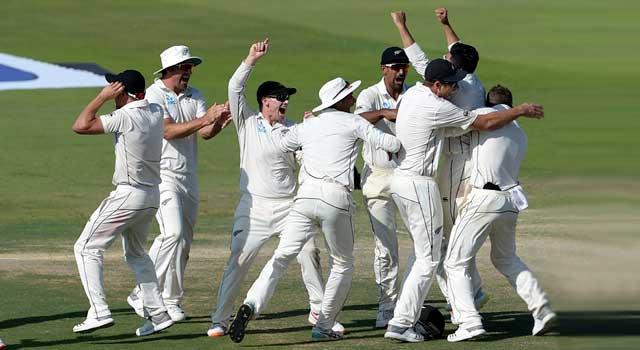 টেস্টে কম রানে জয়ের রেকর্ড গড়লো নিউজিল্যান্ড