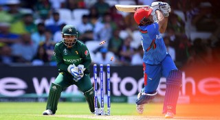 পাকিস্তানকে ২২৮ রানের টার্গেট দিল আফগানিস্তান