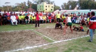 বাগেরহাটে বর্ষবরণে হাডুডু প্রতিযোগিতা
