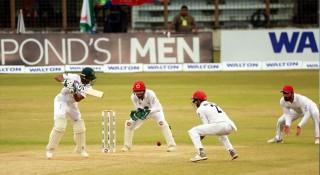 বৃষ্টি-রোদ্দুর খেলা শেষে মাঠে বাংলাদেশ-আফগানিস্তান