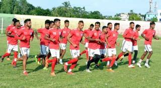 বাংলাদেশ-শ্রীলঙ্কার ফুটবল ম্যাচ দেখাবে বিটিভি
