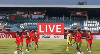 লাইভ : বাংলাদেশ-থাইল্যান্ড এএফসি অনূর্ধ্ব-১৬ মেয়েদের ফুটবল
