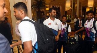শ্রীলঙ্কা পৌঁছেছে বাংলাদেশ ক্রিকেট দল