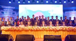 দিনাজপুর ক্রিকেট দলকে জমকালো সংবর্ধনা