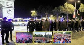বিশ্বকাপের নিরাপত্তায় ফ্রন্সে লক্ষাধিক পুলিশ মোতায়েন