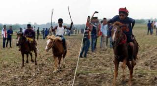 নড়াইলে ঐতিহ্যবাহী ঘোড়দৌড় প্রতিযোগিতা