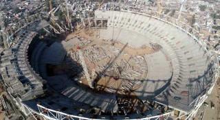 ভারতে নির্মাণ হচ্ছে বিশ্বের সবচেয়ে বড় স্টেডিয়াম