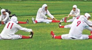ইরানে প্রথমবারের মত অনুষ্ঠিত হবে নারীদের ফুটবল ম্যাচ