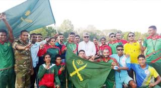 কুড়িগ্রামে জাতীয় সাইক্লিংয়ে চ্যাম্পিয়ন সেনাবাহিনী