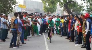 কুড়িগ্রামে ৪০তম জাতীয় সাইক্লিন প্রতিযোগিতা শুরু