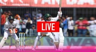 লাইভ : বাংলাদেশ-ভারতের গোলাপী বলের টেস্ট ম্যাচ