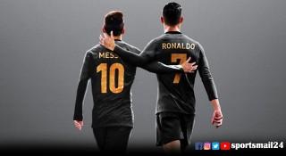 মেসি-রোনালদো একসঙ্গে, ঝাঁকুনি খাবে ফুটবল বিশ্ব