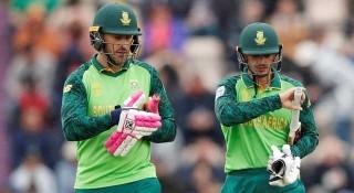 ভারতের বিপক্ষে টি-২০ দলে নেই ডু প্লেসিস, অধিনায়ক ডি কক
