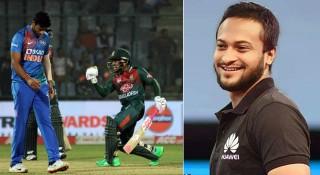 বাংলাদেশ ক্রিকেট দলকে সাকিবের অভিনন্দন