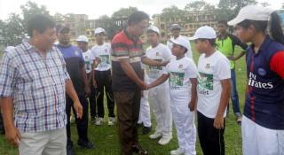 শেরপুরে অনুষ্ঠিত হলো অনুর্ধ্ব-১২ ক্রিকেট কার্নিভাল