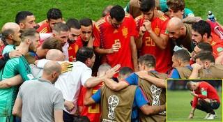 দেশের গণমাধ্যমে 'বিদ্ধ' স্পেন ফুটবল দল
