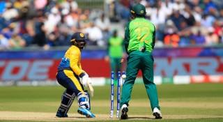 দক্ষিণ আফ্রিকার বোলিং তোপে ২০৩ রানে অলআউট শ্রীলঙ্কা