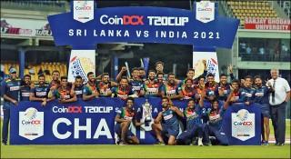 ভারতের 'দ্বিতীয় সারির' দলকে হারিয়ে পুরস্কৃত লঙ্কান ক্রিকেটাররা
