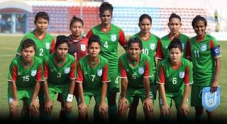 চার ধাপ পেছালো বাংলাদেশ নারী ফুটবল দল