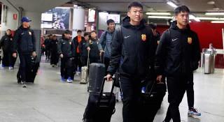 চীনে ফিরলো উহান ফুটবল দল