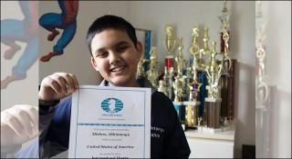 বিশ্বরেকর্ড করে ১২ বছর বয়সেই গ্রান্ডমাস্টার অভিমন্যু