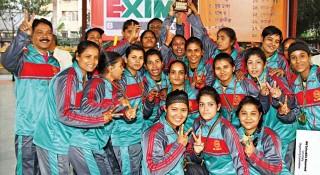 শ্রীলঙ্কাকে হারিয়ে সেমিতে বাংলাদেশ নারী হ্যান্ডবল দল