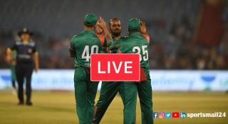লাইভ : বাংলাদেশ বনাম শ্রীলঙ্কা (লিজেন্ডস ক্রিকেট)