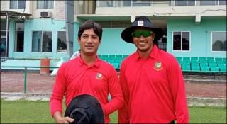 দ্বিতীয় বাংলাদেশি টেস্ট ক্রিকেটার হিসেবে আম্পায়ারিংয়ে সাজেদুল