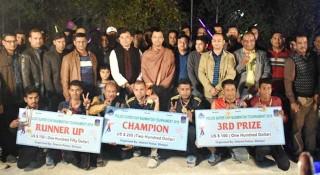 শেরপুরে পুলিশ সুপার কাপ ব্যাডমিন্টন ফাইনাল অনুষ্ঠিত