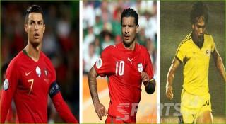 আন্তর্জাতিক ফুটবলে সর্বাধিক গোল যাদের