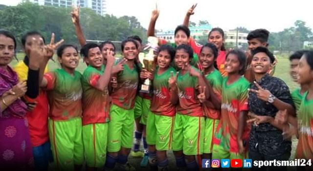 জেএফএ কাপ চ্যাম্পিয়ন সাতক্ষীরা নারী ফুটবল দল