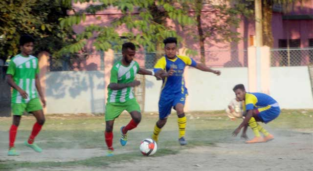 Sherpur Jela Football leage