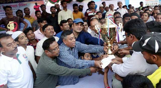 শেরপুর জেলা ফুটবল লিগে রাইজিং ক্লাব চ্যাম্পিয়ন