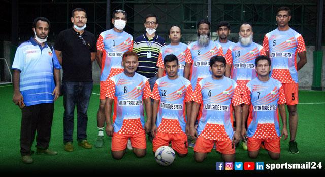 সিরাজগঞ্জ সোনালী অতীত ক্লাবের প্রীতি ফুটবল ম্যাচ