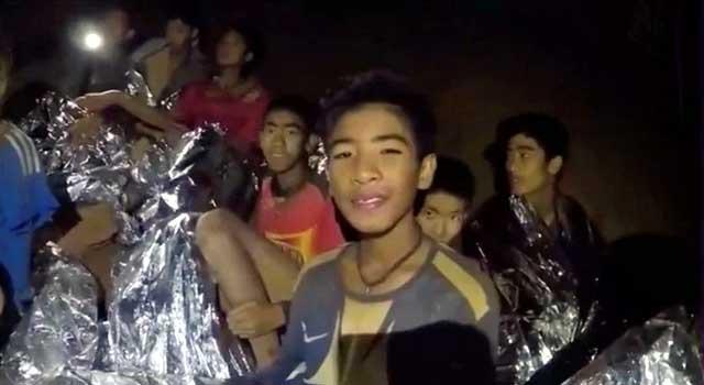 থাইল্যান্ডের গুহায় আটকে পড়া সবাইকে উদ্ধার