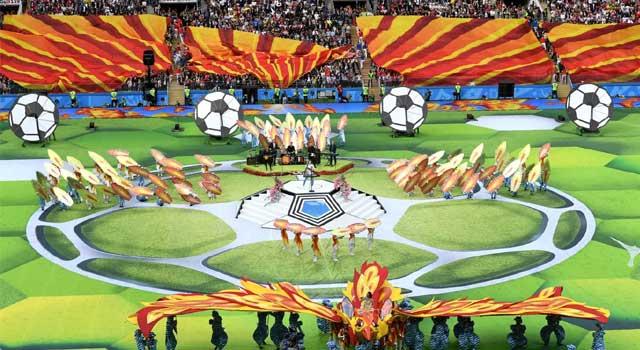 শুরু হলো ফুটবল বিশ্বকাপ