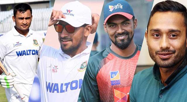জিম্বাবুয়ে-বাংলাদেশ টেস্ট চার নতুন মুখ