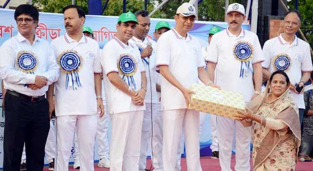 দিনাজপুর পুলিশের ক্রীড়া প্রতিযোগিতা অনুষ্ঠিত