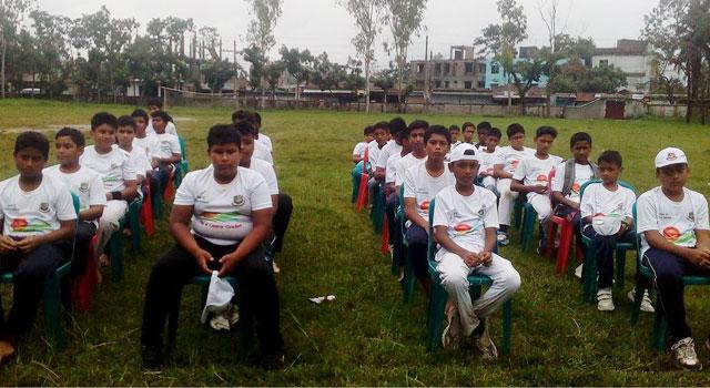 শেরপুরে অনুর্ধ্ব-১২ ক্রিকেট কার্নিভাল অনুষ্ঠিত