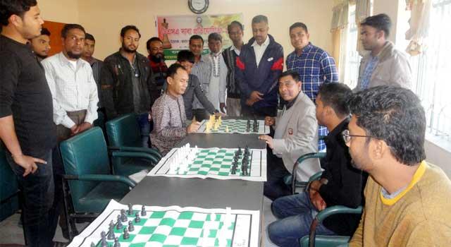 শেরপুরে ডিএসএ দাবা প্রতিযোগিতা উদ্বোধন