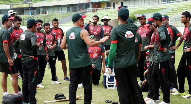 ওয়েস্ট ইন্ডিজের বিপক্ষে বাংলাদেশ টি-টোয়েন্টি দল ঘোষণা